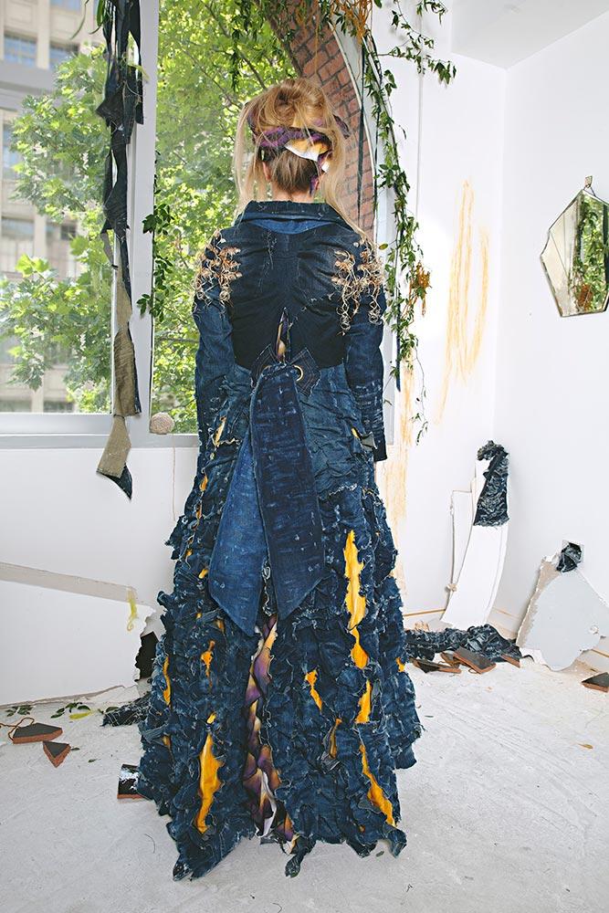 Reclaim Thy Self Coat By Tarmi Clarke