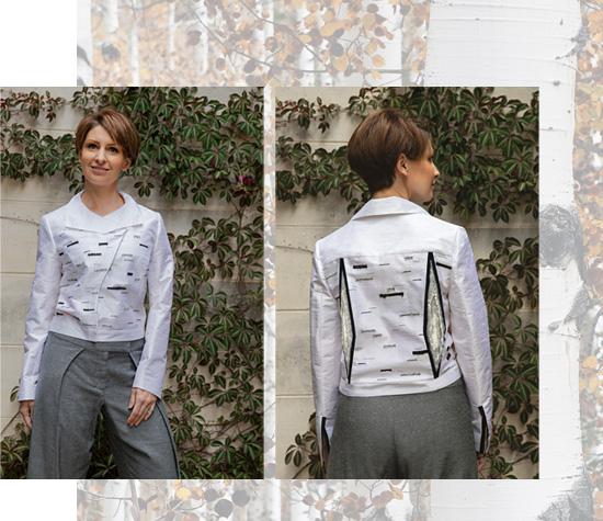 Silver Birch Biker Jacket