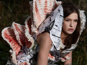 Mycelium Dress by Tarmi. Artist, Designer, Fashion