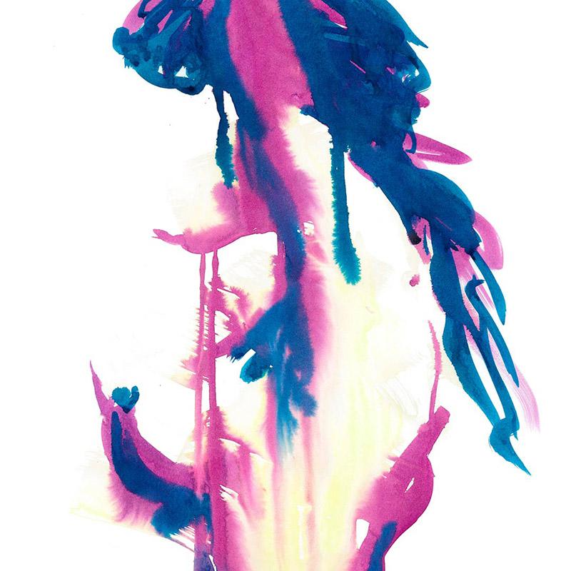 Tarmi Clarke Mirage Figure Painting Fine Art Print