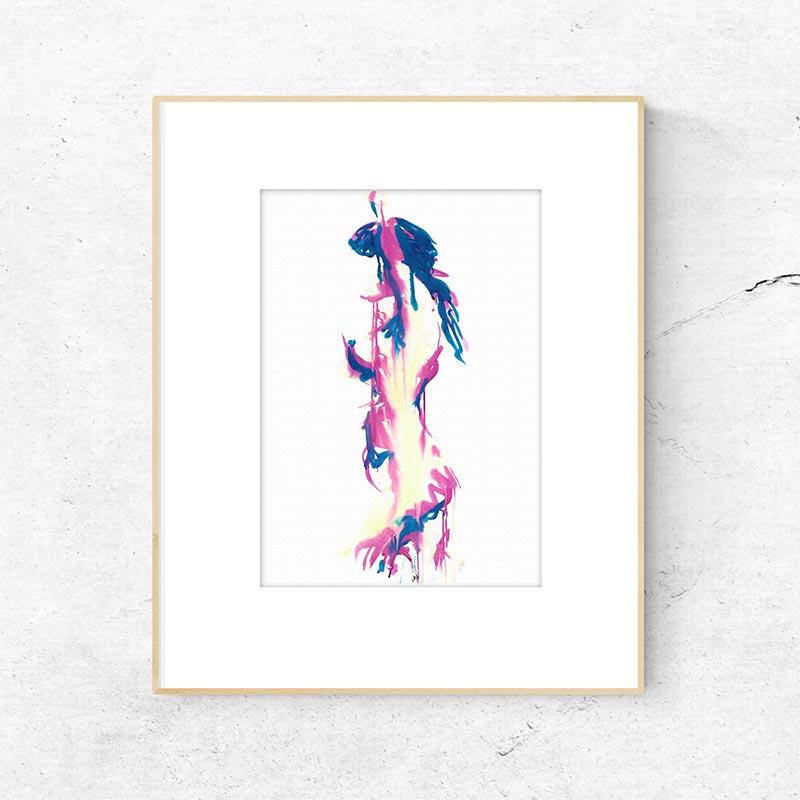Mirage Figure Painting Fine Art Print