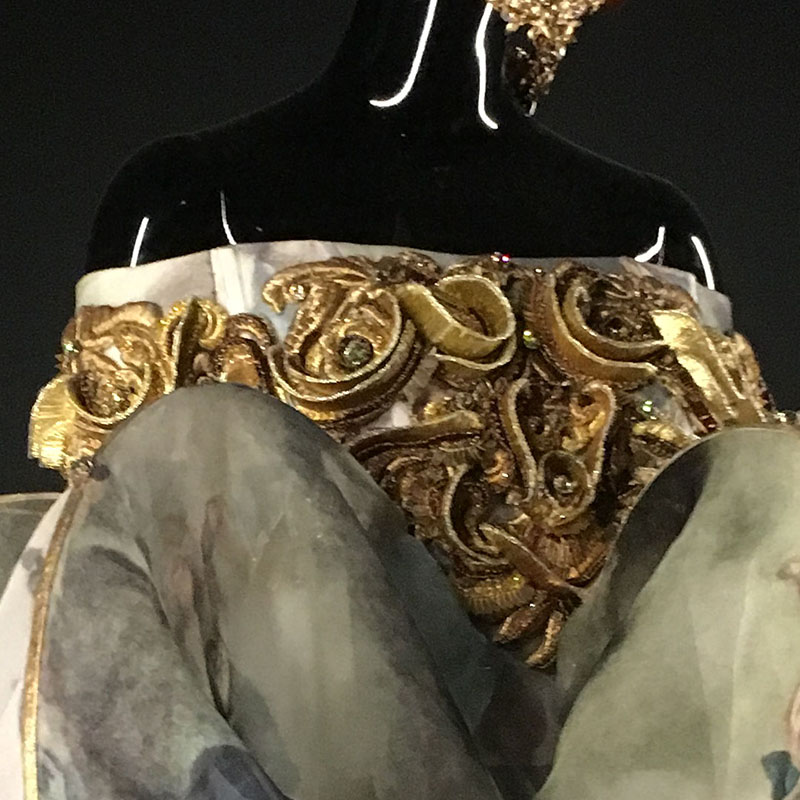 Guo Pei - Bubble Gown Embroidery And Embellishment 2017 – Spring/Summer – Legend Collection