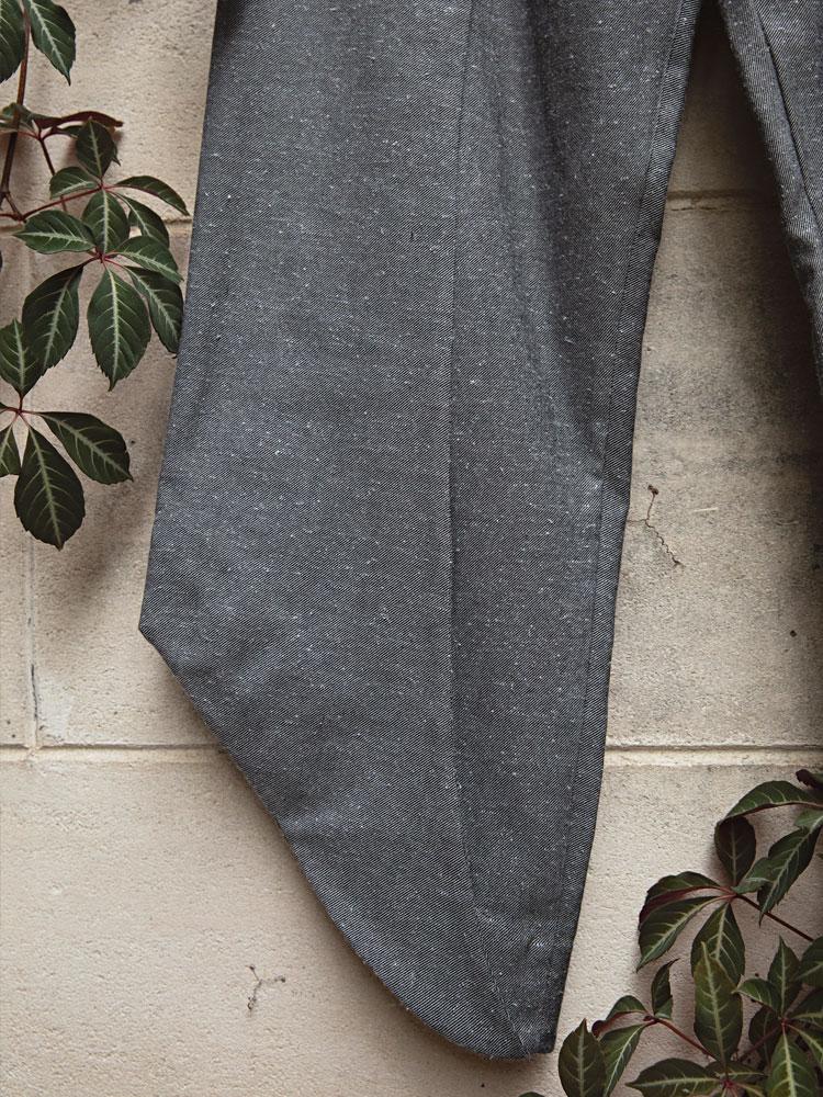 Charcoal Birch Trouser leg close-up