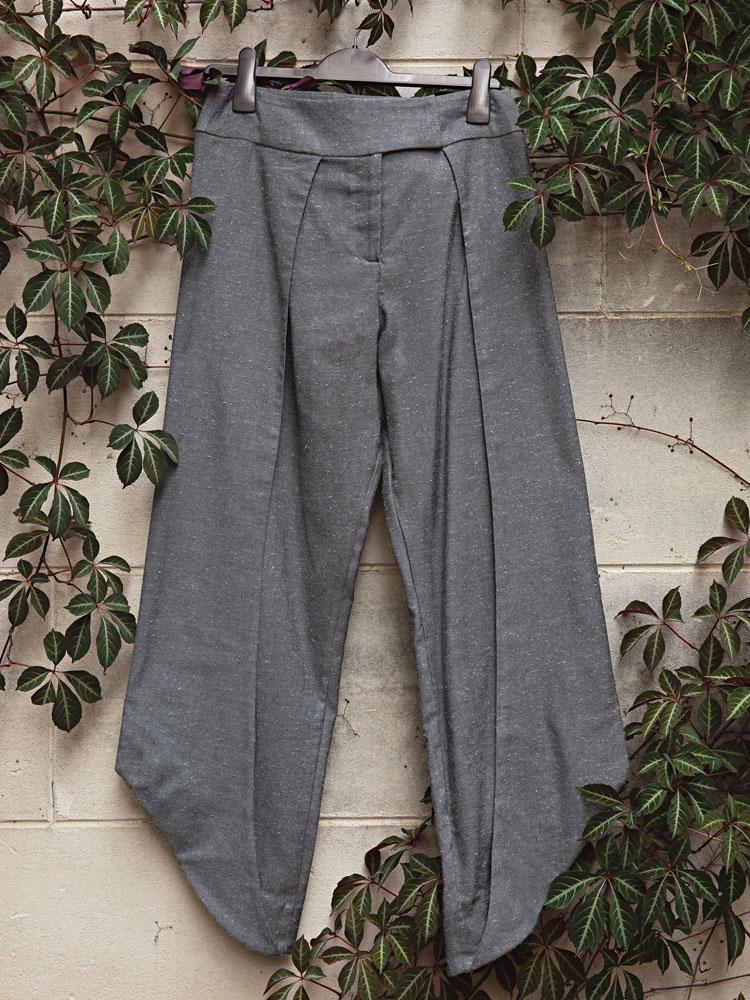 Charcoal Birch Trouser