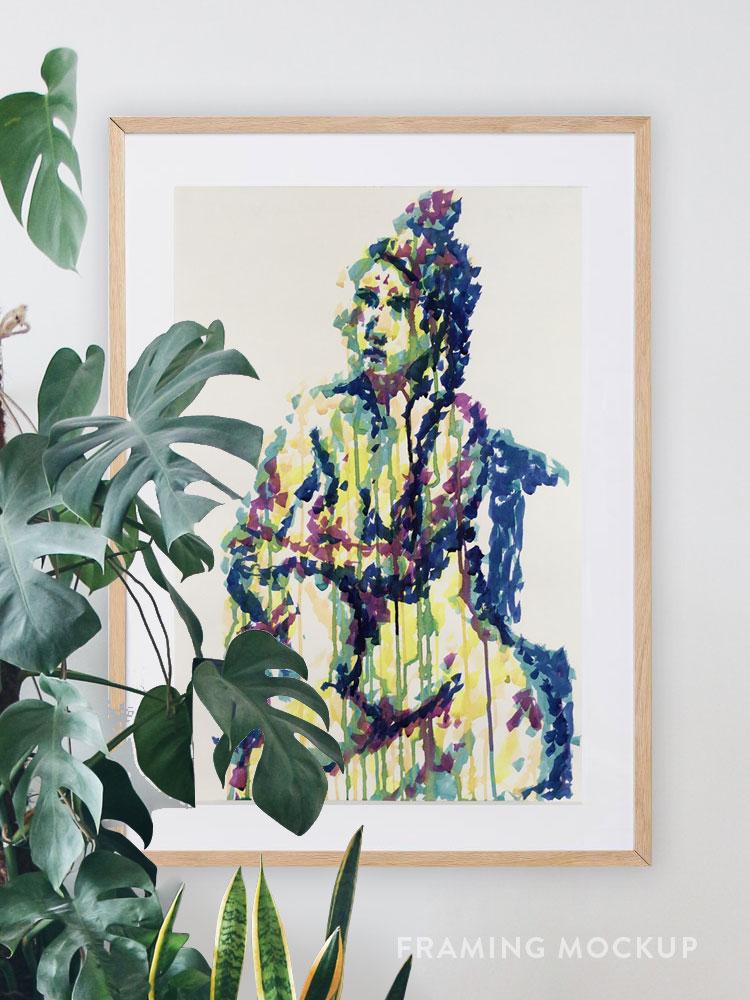 'Duchess' – Life Painting By Tarmi