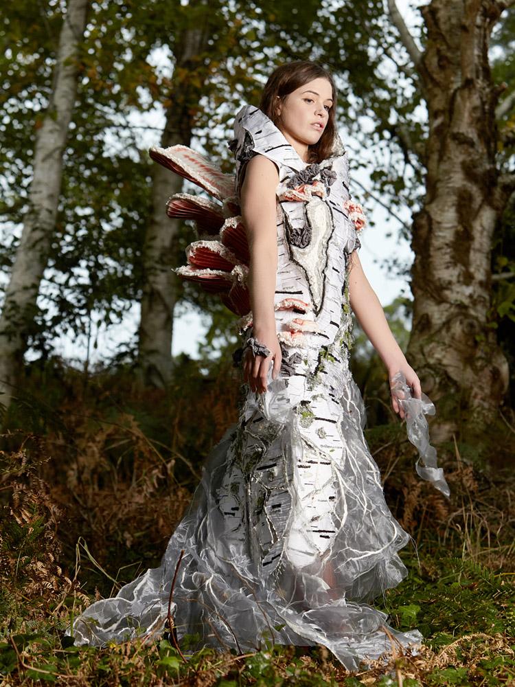 MYCELIUM Art Couture Dress By Tarmi