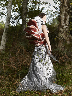 MYCELIUM Art Couture Dress By Tarmi