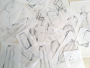 Tarmi Mycelium collection sketches hero image - design ideas